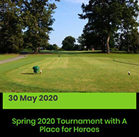 Golf Tournament May 2020